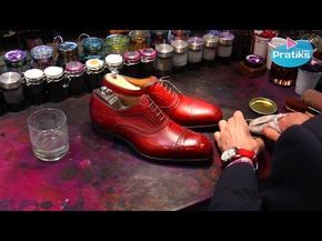 ▶ Comment glacer ses souliers - YouTube