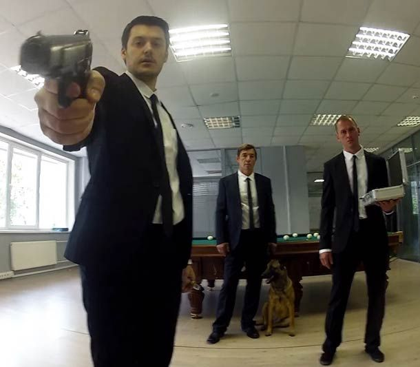 BAD MOTHERFUCKER (INSANE OFFICE ESCAPE 2) – AN AMAZING FIRST PERSON ACTION MOVIE AS MUSIC VIDEO