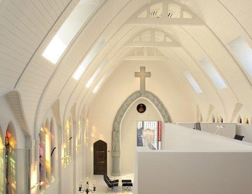 Charming Loft Dans Une Ancienne église à Utrecht