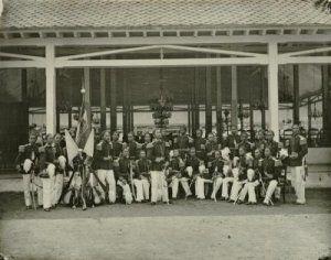 Perwira Infantri Legiun Mangkunegara Soerakarta 1867