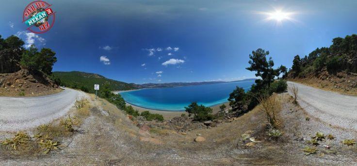 """""""BURDUR GÜZELLİĞİ SALDA GÖLÜ"""" Salda Gölü' nü Sanal Tur İle 360 Derece Gez. Mekan360 ile her yerden, gezdiğin yeri 360° hisset"""