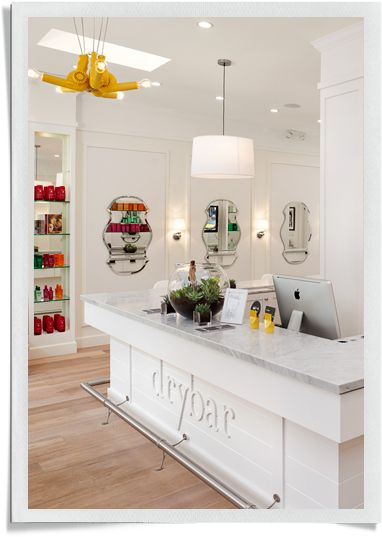 Premier blow dry bar in Tribeca, NYC