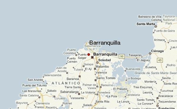 Barranquilla Location Guide