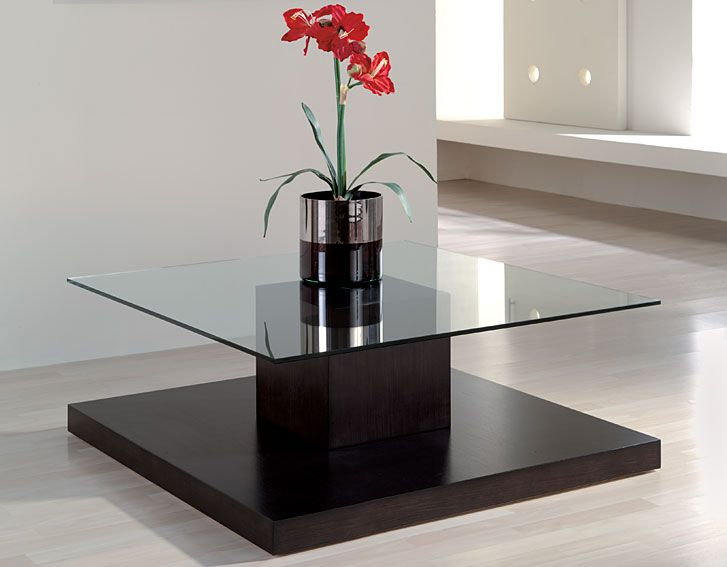 Mesa de Centro Moderna Olivia   Material: Madera de Roble