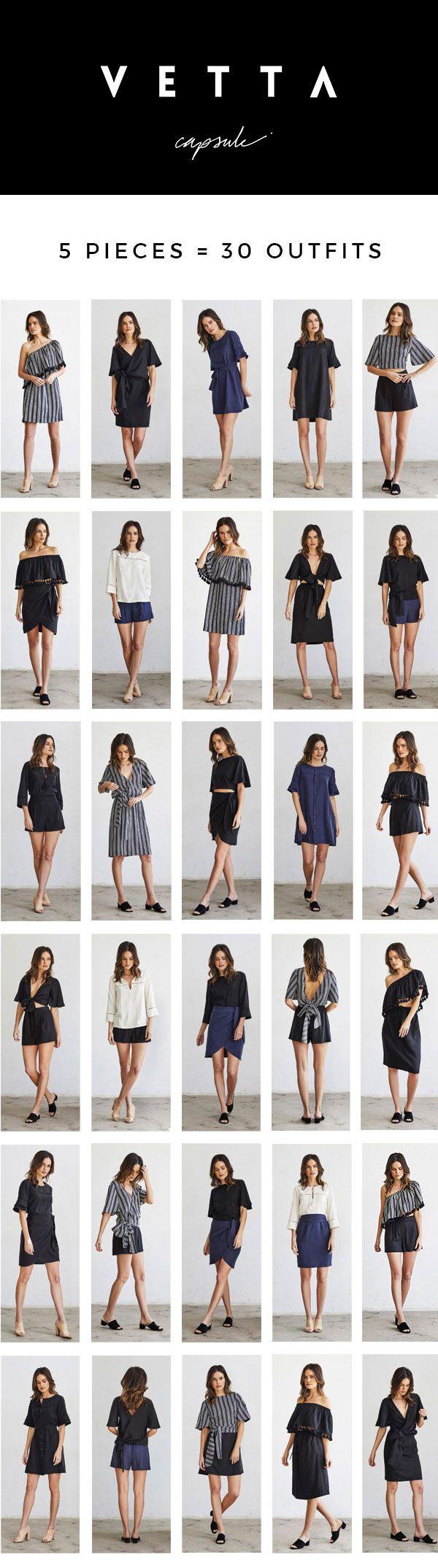 VETTA SS17 | The Classic Capsule | Capsule No. 3 | Capsule Wardrobe | Made in USA | Eco-Friendly Fabric | Ethical Fashion | Spring Capsule Wardrobe | Summer Capsule Wardrobe | www.vettacapsule.com