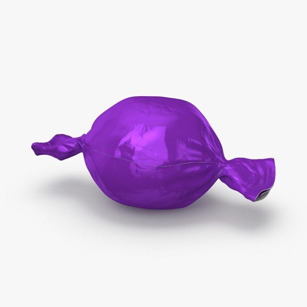 Hard Candies Purple 3D Max - 3D Model