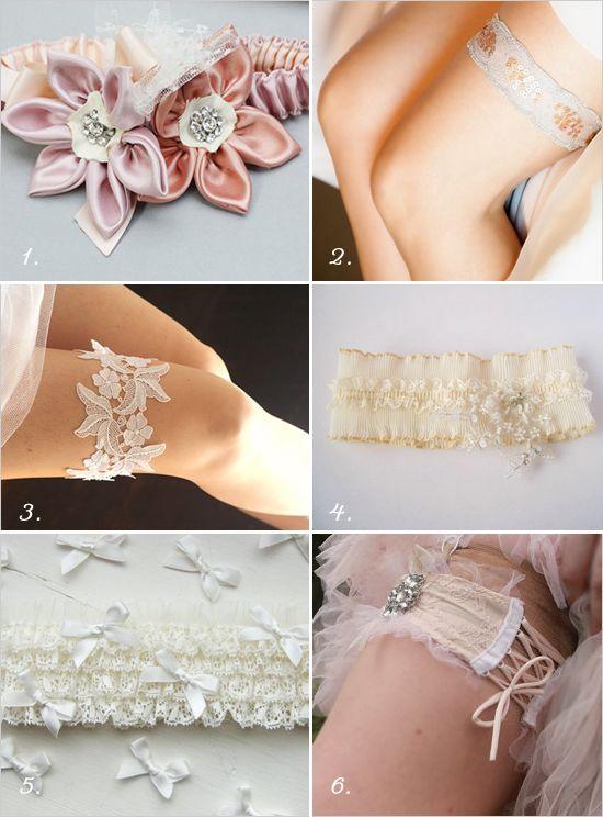 Super Pretty Wedding Garters
