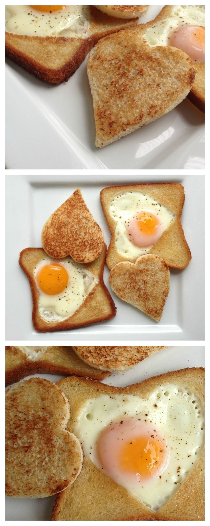 Egg In a Hole Collage