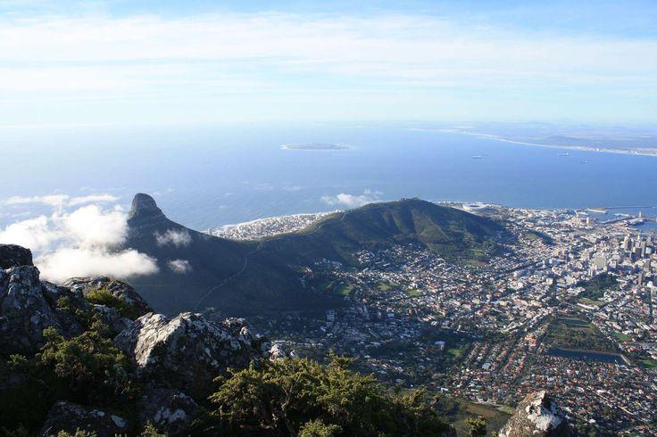 Aanzicht Kaapstad