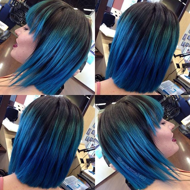 This disconnected haircut and color is out of this world! Done at #RegencyBeauty