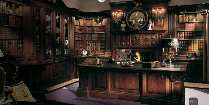 Luxury Home Office Library Office Pinterest Shops