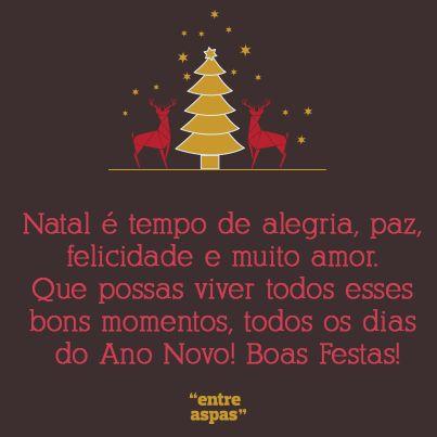 Escolha a sua mensagem de Natal preferida no Entre Aspas e partilhe com os seus amigos!