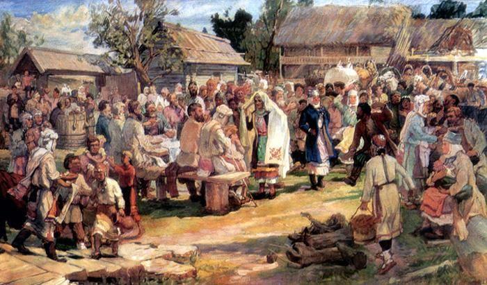 Свадебные обряды и костюмы чувашии