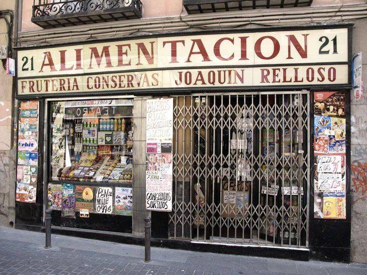 tienda de alimentación antigua