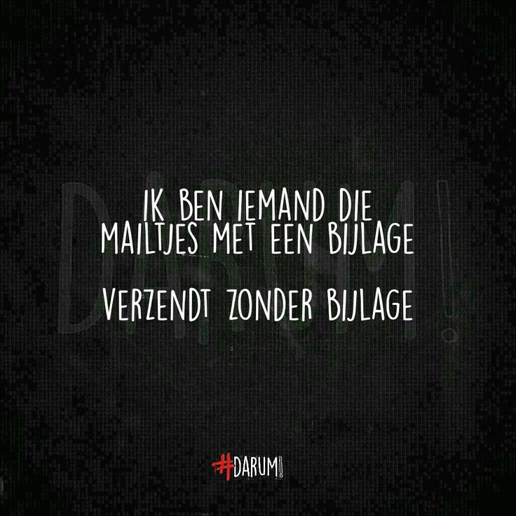Altijd...