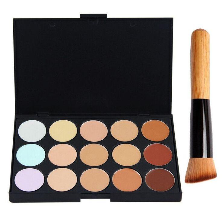 15 Colors Concealer Palette