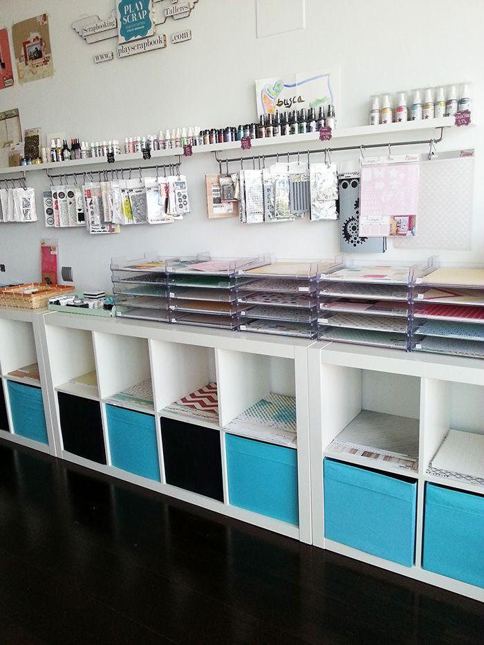 Cosas bonitas colocaditas en nuestro Estudio #estudioplayscrap #playscrap #tiendascrapbookingmadrid #scrapbooking