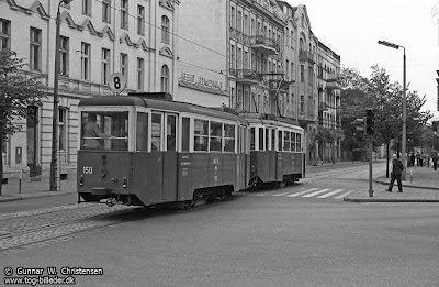 .  Ulica Dworcowa. 26 maja 1974 roku.   Copyright www.tog-billeder.dk