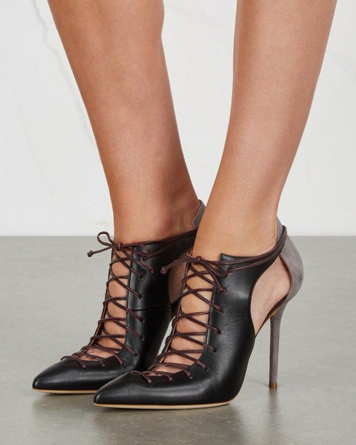 MALONE SOULIERS Montana black leather pumps | Buy ➜ https://shoespost.com/malone-souliers-montana-black-leather-pumps/