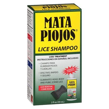MATA PIOJOS Shampoo - 2 oz.