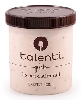 Talenti Gelato is my favorite dessert! All their flavors are amazing, but Toasted Almond is out of this world!