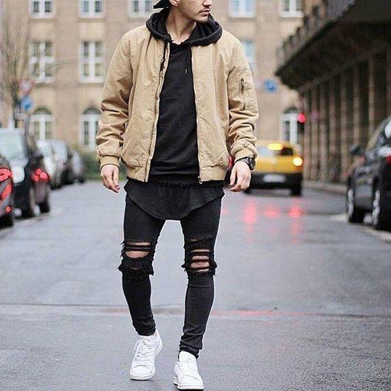 Via @trillestoutfit check them put for amazing streetwear! @trillestoutfit  Model @khurshednuriddinov  #mensfashion_guide