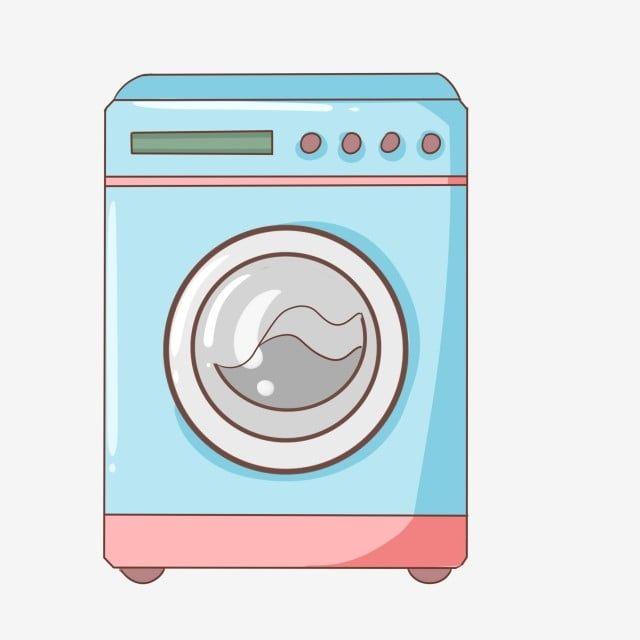 Machine A Laver Automatique Bleue Belle Machine A Laver Automatique Machine A Laver Automatique Peinte A La Main Machine A Laver De Dessin Anime Machine A Lave In 2021 Felt Book