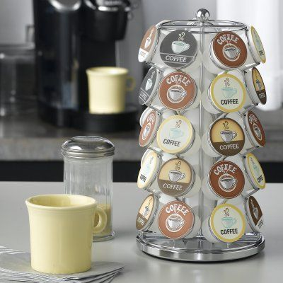 Nifty Home Coffee Pod Carousel - Chrome - 5728