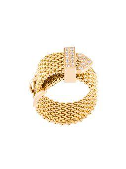 "anillo con diamantes ""Polonaise"" - AURELIE BIDERMANN"
