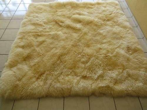 tapete de sala super macio - pele de carneiro - 2,00 x 1,50m
