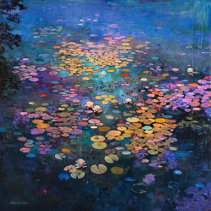 New Mixed Media Landscapes and Still Lifes That Merge Photography and Impressionism by Stev'nn Hall