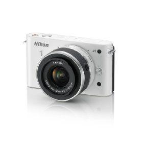 Amazon.com: Nikon 1 J1 10.1 MP HD Digital Camera System with 10-30mm VR 1 NIKKOR Lens (White): NIKON: Electronics