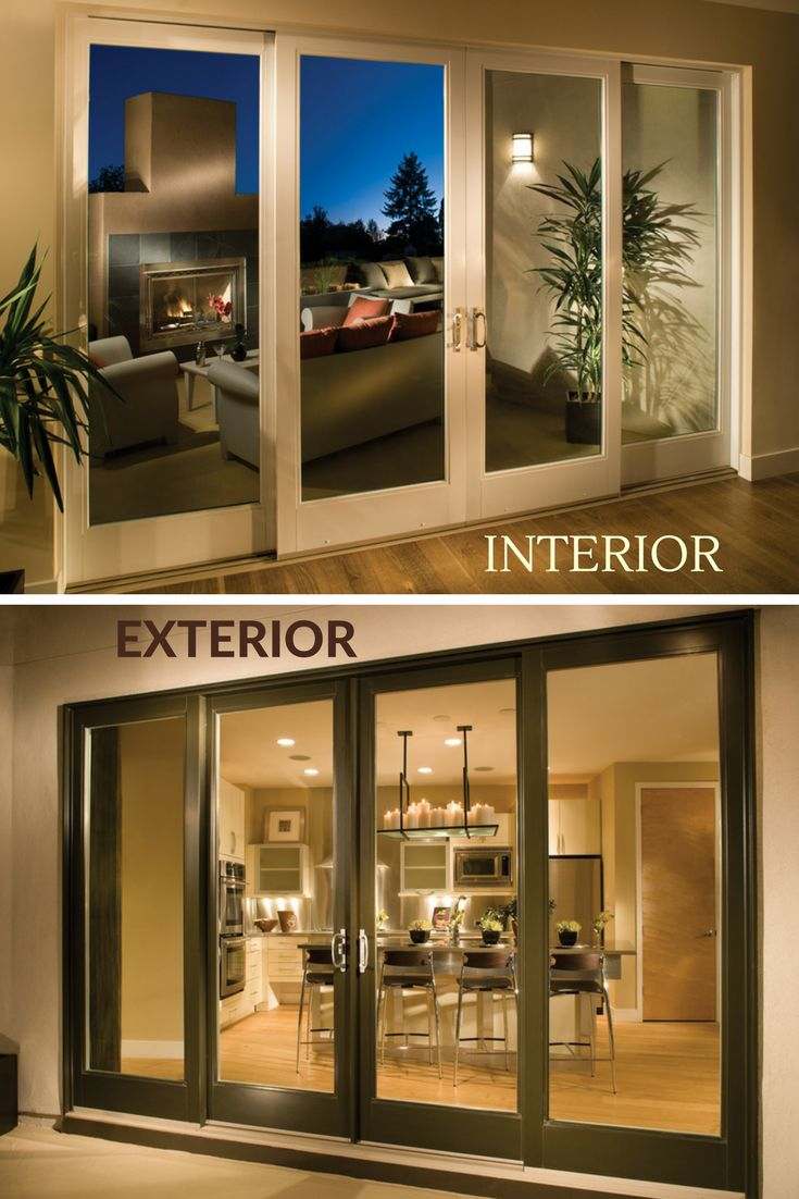 95 best to adore french doors images on pinterest french for 4 panel french doors exterior