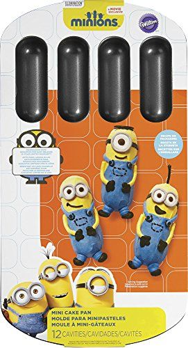 Wilton 2105-4619 Despicable Me Minions Cake Pan, Metallic