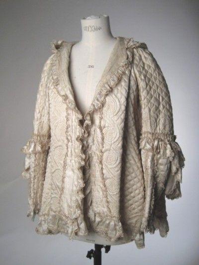 Quilted silk Brunswick, Manchester Galleries, c. 1760-70