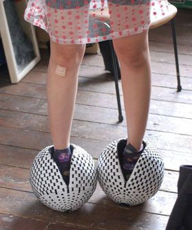 ball shoes. To wear with your ball gown, of course.  mmmmmmmmm... Y?????  K.