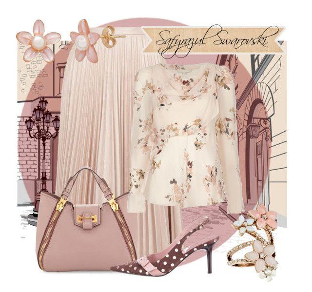 Fashion style Vanessa Bruno Topshop Casadei Tom Ford Accessorize clothing #style #fashion #modafeminina #modafashion #lookdodia #fashionista #jwmoda #saia #blusa #bolsa #sapato #brinco #anel