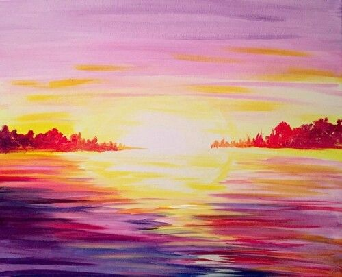 We Host Painting Events At Local Bars Come Join Us For A Paint Nite Party