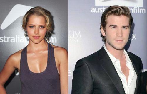 Liam Hemsworth joins Teresa Palmer, John Malkovich and & Billy Bob Thornton on set of CutBank