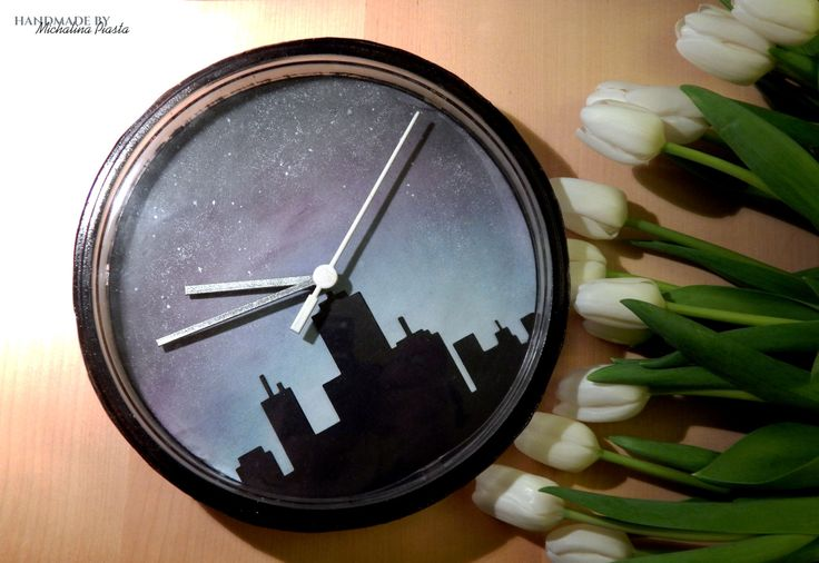 clock made from the IKEA's cheapest clock ever