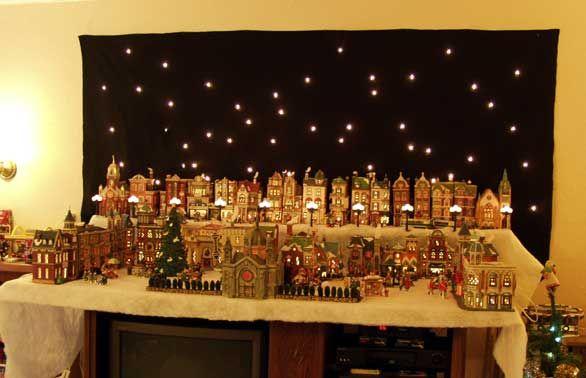 christmas village display description