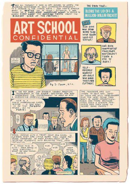 Art School Confidential by Dan Clowes
