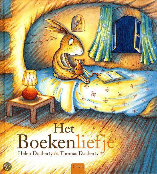 Helen Docherty - Het boekenliefje. De inwoners van Holletje-in-'t-bos lezen altijd een verhaaltje voor het slapengaan, maar opeens beginnen hun boeken te verdwijnen. Lisa Langoor wil het mysterie oplossen en maakt een val om de boekendief te vangen.
