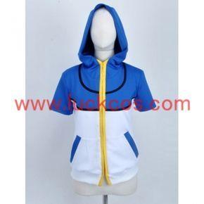 Pokemon Ash Ketchum Jacket Cosplay Costume Custom-Made