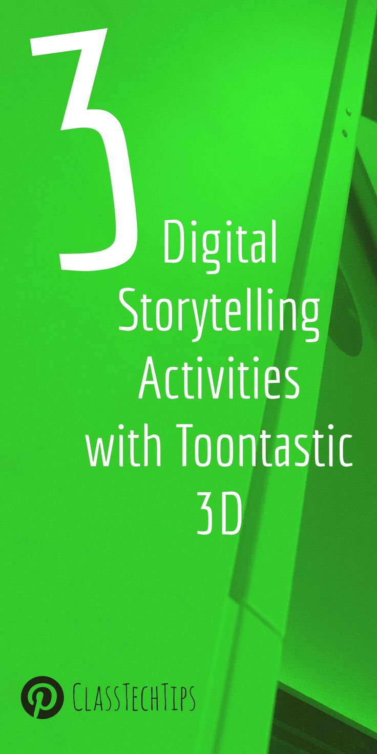 Looking for lesson ideas? I'm excited to share different ways you can incorporate this tool into your instruction with three digital storytelling activities.