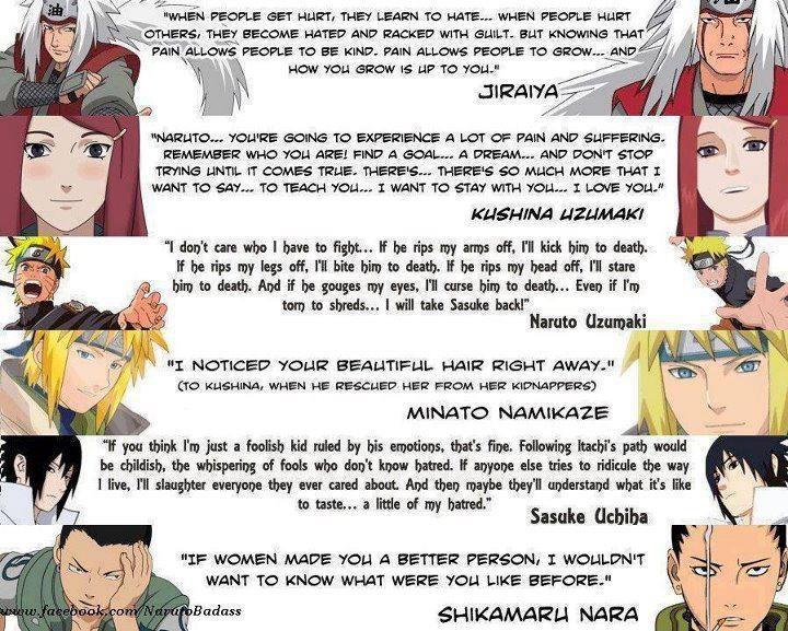 Jiraiya, Kushina, Naruto, Minato, Sasuke, Shikamaru