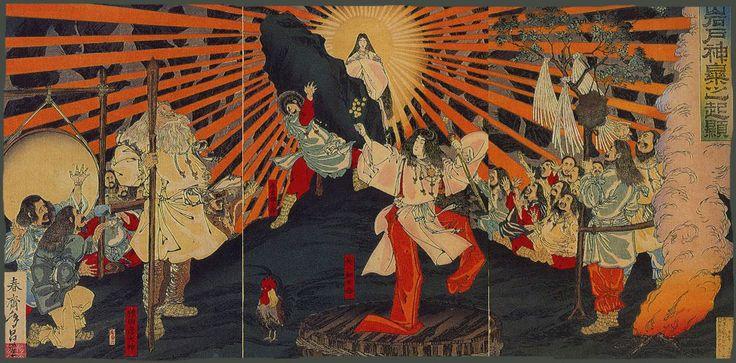 """Los Dioses KAMI de Japón """"crearon"""" su humanidad."""