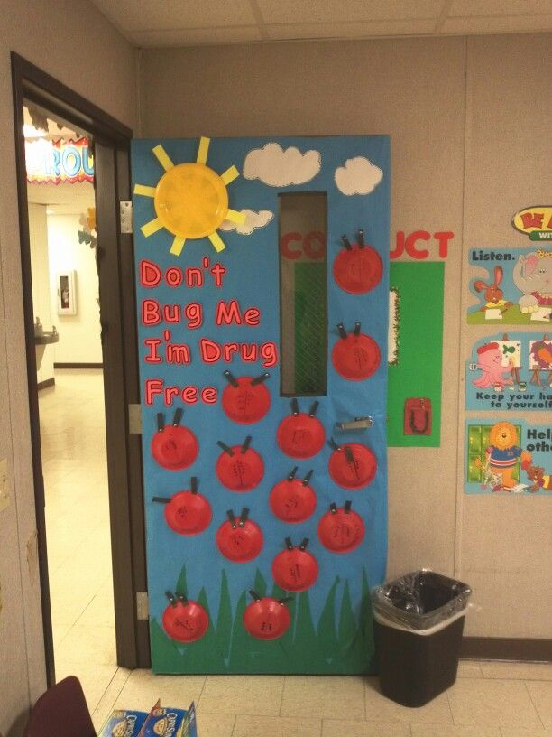Classroom Decoration Free : Best drug free class door decoration images on