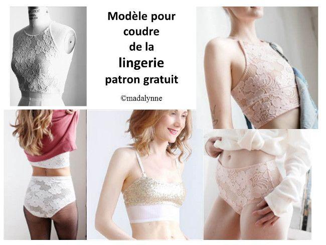 Patrons lingerie gratuits | Les Dessous d'Anna