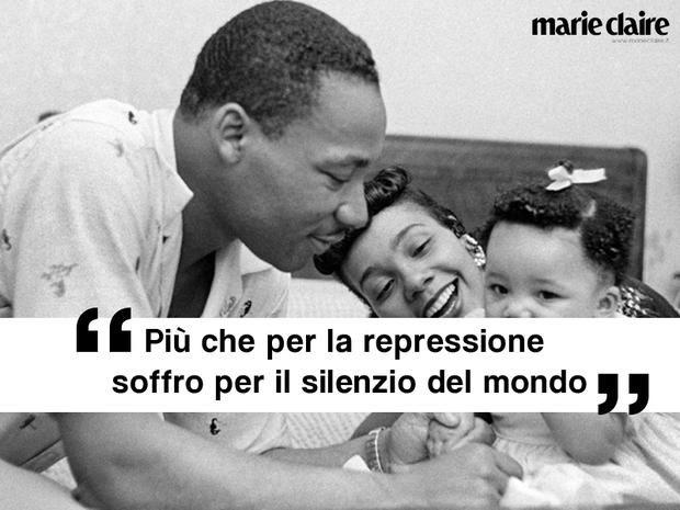 Martin Luther King frasi e foto storiche